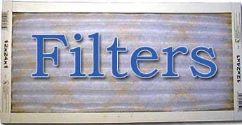 filter for paint booths